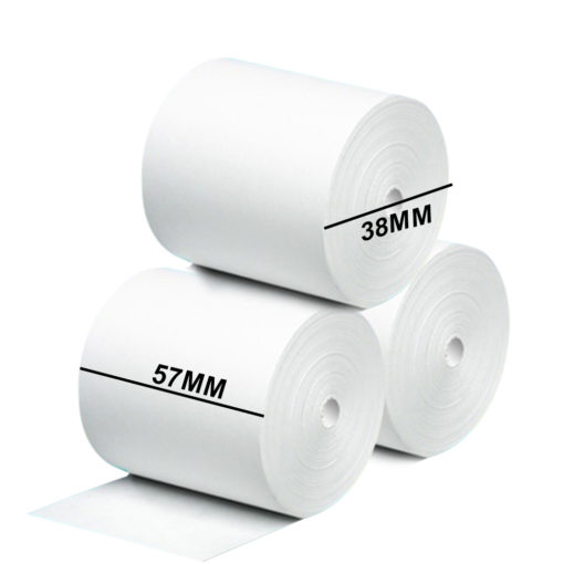 57mm Thermo Papir for betalingsterminaler